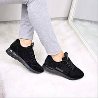Кроссовки женские Flash Black 3558, спортивная обувь