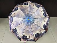 Зонт женский полуавтомат Lantana города (L723-8) на 9 спиц