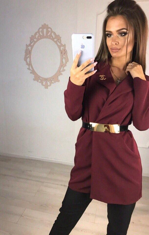 Пиджак женский 48+ арт 57225-160 - МОДНАЯ ВОЛНА - Оптово-розничный интернет-магазин. Прямой поставщик одежды. в Одессе