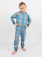 Детская хлопковая пижама для мальчика РВ 018, рр. 104-140, ВОЛ (Cornett)