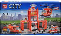 Конструктор City Пожарная станция 89008