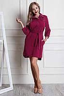Модное платье-рубашка на осень