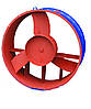 Осевой вентилятор ВО 06-300 №8 с дв. 3 кВт 1500 об./мин