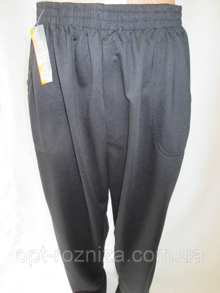Батальные мужские штаны черного цвета.