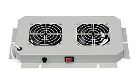 Вент.панель 2 вент. ZPAS 230В, 30Вт, 380x210