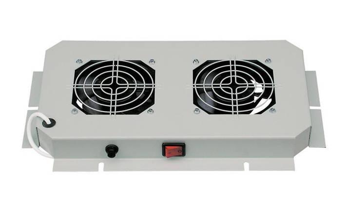 Вент.панель 2 вент. ZPAS 230В, 30Вт, 380x210, фото 2