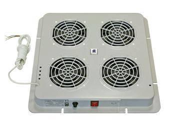 Вентиляторна панель 4 вентилятори ZPAS 230В, 30Вт, фото 2