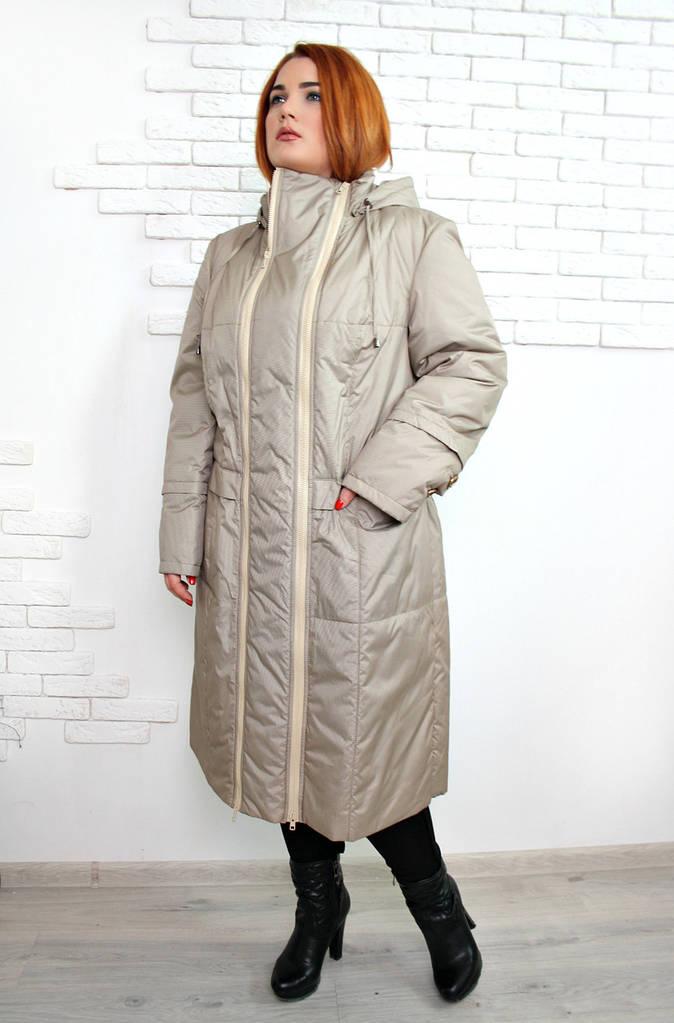 Пальто демисезонное Аврора бежевый
