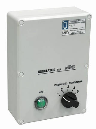 Регулятор обертів ZPAS ARO 0.6 для вент. PWS2, фото 2