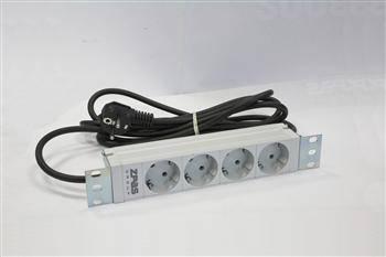 """Блок розеток 10 """"1U, 10A, 230V 4d schuko, фото 2"""