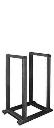 """Стійка ZPAS SRX 19"""" напольна дворамна 24U глиб 800мм чорний колір 1C0001317WZ-6026-01-01-161, фото 2"""