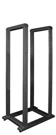 """Стійка ZPAS SRX 19"""" напольна дворамна 36U глиб 800мм чорний колір 1C0001272WZ-6026-01-02-161, фото 2"""