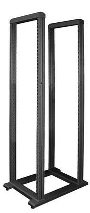"""Стійка ZPAS SRX 19"""" напольня дворамна 42U глиб 800мм чорний колір 1C0001317WZ-6026-01-04-161, фото 2"""