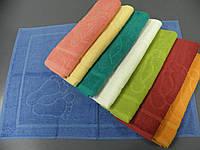 Полотенце для ног 50х70см разные цвета Zastelli