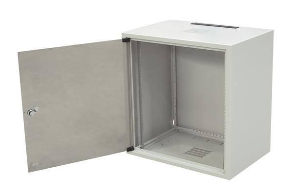 """19"""" шафа 18U, глиб. 600 мм., сірий колір, фото 2"""