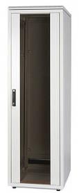 """Шафа 19 """", 24U 600 * 600, скляні передні двері WZ-SZBD-093-ZCAA-11-0000-011-U"""