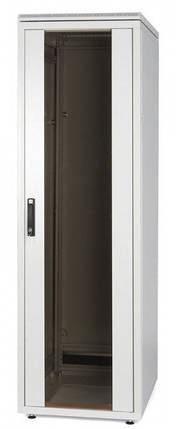 """Шафа 19"""",24U 600*600,скляна передня дверь WZ-SZBD-094-ZCAA-11-0000-011-U, фото 2"""