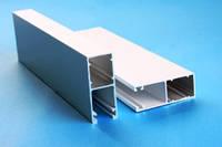 Направляющие алюминиевые для защитных роллет  53\22мм, фото 1
