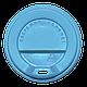 Крышка КВ80 50шт.(40/2000) (340мл) Голубая