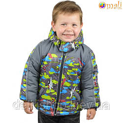 Куртка на флисовой подкладке «Самолёты» Omali