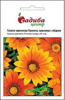 """Семена Газания карликовая """"Промеза"""", оранжевая с ободком, 10 шт, """"Бадваси"""", Украина"""