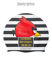 Силиконовая шапочка для плавания Angry Birds Angry Red County