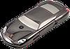 Китайский машинка-телефон Porsche F977, 2 SIM, МP3, FM-радио. Металлический корпус!