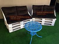 Комплект подушек для мебели из поддонов с прошивкой, фото 1