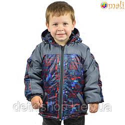 Куртка на флисовой подкладке «Гонки» Omali