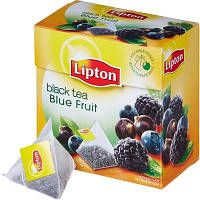 (32020542)Lipton Чай 20 пакетов пирамида  Blue Fruit