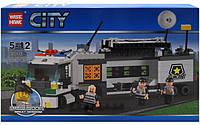 Конструктор City Полицейский грузовик 85016