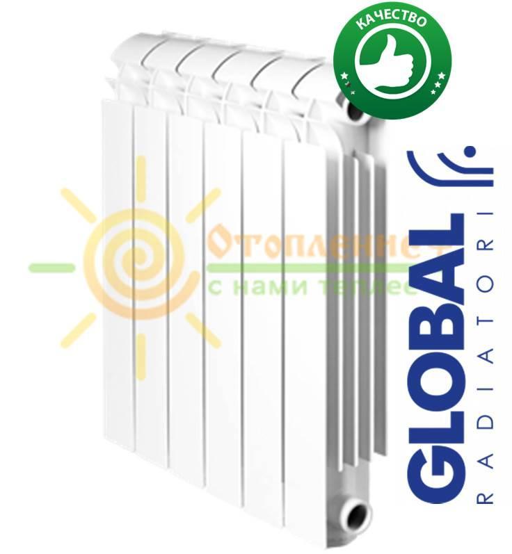Радиатор алюминиевый Global Vox Extra 500х100 (Италия) - Отопление плюс в Харькове