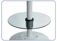Аксессуар к газовым обогревателям Стеклянный стол (для Elegance и Rattan, 37 cm для стойки Ø50 мм)