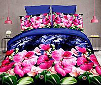 Комплект постельного белья от украинского производителя Polycotton Двуспальный 90902