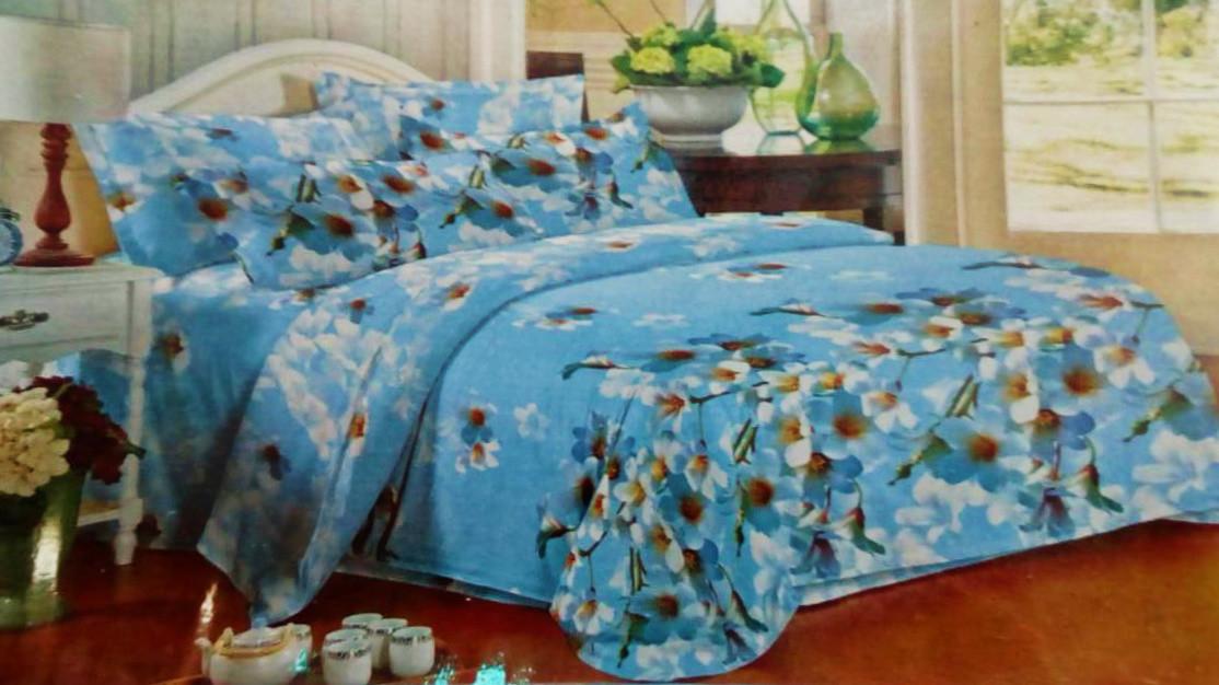 Комплект постельного белья от украинского производителя Polycotton Двуспальный T-90909