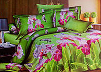Комплект постельного белья от украинского производителя Polycotton Двуспальный T-90918, фото 1