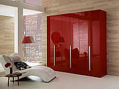 Шкафы распашние с фасадом МДФ покраска
