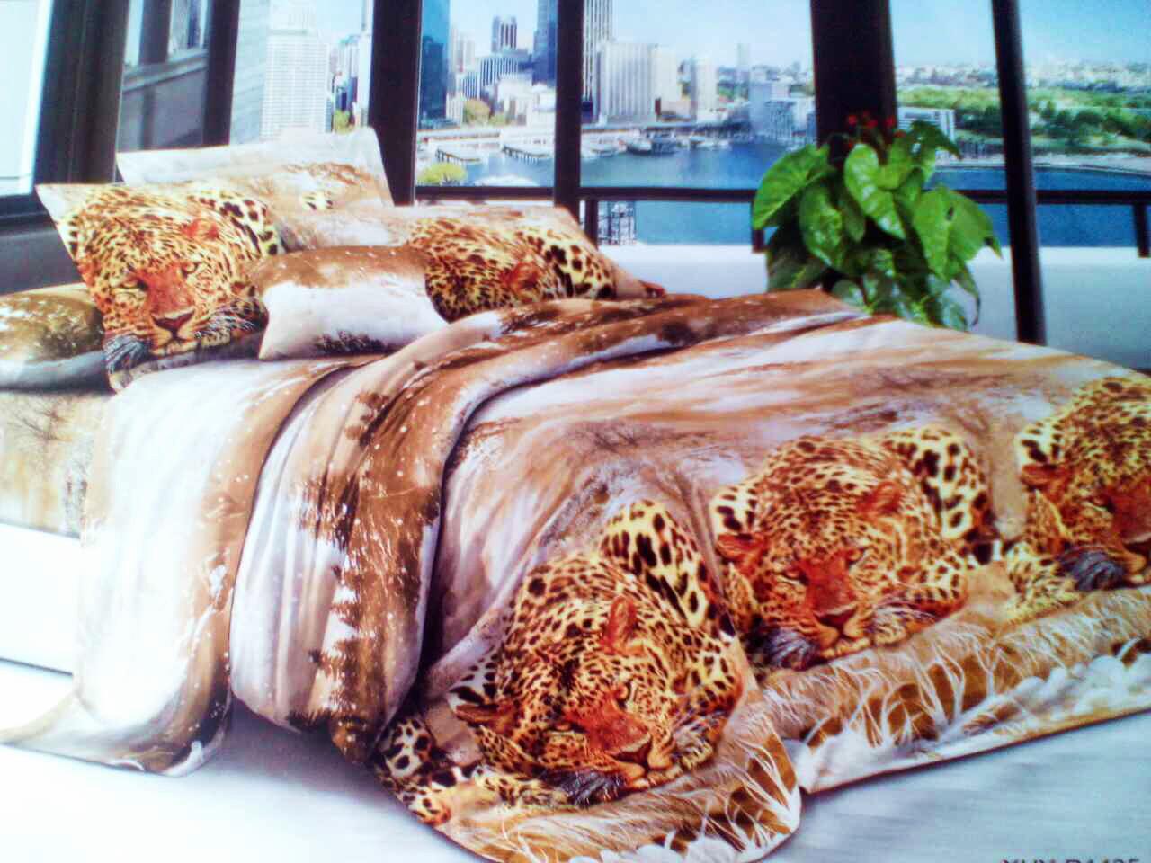 Комплект постельного белья от украинского производителя Polycotton Двуспальный T-90924