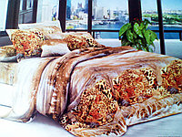 Комплект постельного белья от украинского производителя Polycotton Двуспальный T-90924, фото 1