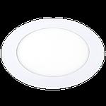 """Светодиодный встраиваемый светильник Ilumia 027 RL-9-130-NW 9W 4000K """"Круг"""", фото 2"""