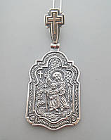 "Серебряная ладанка ""Ангел Хранитель"" Арт. БР-0025131"