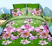 Комплект постельного белья от украинского производителя Polycotton Полуторный T-90940, фото 1