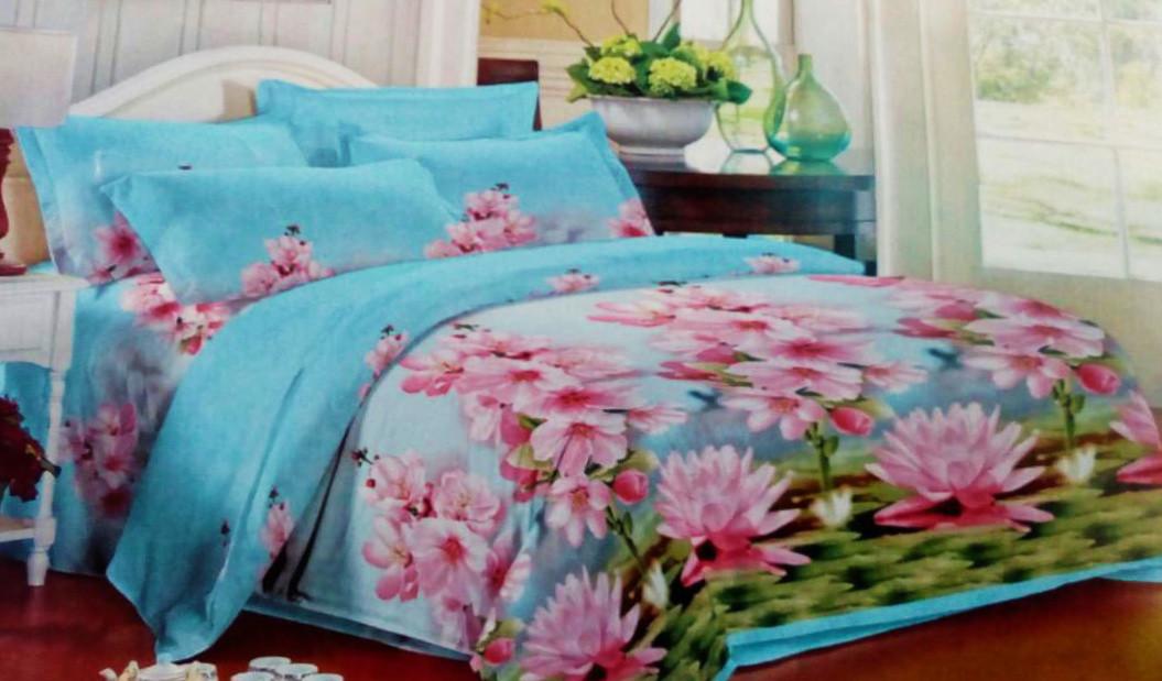 Комплект постельного белья от украинского производителя Polycotton Полуторный T-90945