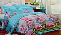 Комплект постельного белья от украинского производителя Polycotton Полуторный T-90945, фото 1