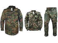Костюм Bundeswehr Flecktarn ( куртка + китель+ штаны)