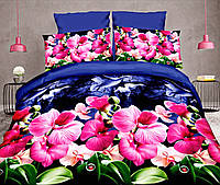 Комплект постельного белья от украинского производителя Polycotton Полуторный T-90965