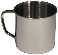 Кружка стальная 0,5 литра