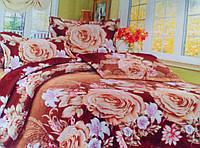 Комплект постельного белья от украинского производителя Polycotton Полуторный T-90968, фото 1