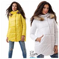 Женская куртка на синтепоне осень-зима