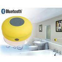 Bluetooth Shower Speaker колонка MP3 для душа водонепроницаемая BTS-06 Yellow